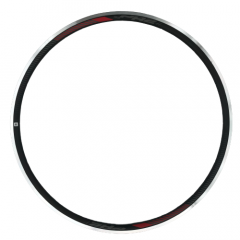 Rim PR2 DBL(AGP7)700X(16+8)FV ANO M.BK W/CNC Sleeve For TL w