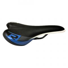 Saddle SR 2041urn black/fuxia,steel black rail