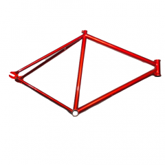 Frame Ball Gear Fixed 700c Track Steel Rim Red Size: M