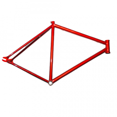 Frame Ball Fixed 700c Track Steel Rim Red Size: Large