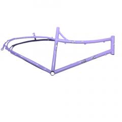 Frame Purpler Design Logo 700c Mixed Steel V-Brake Size: M