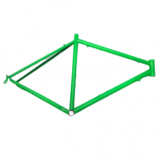 Frame Green No Logo Steel Rim 700c Road Size: L