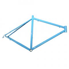 """Frame Blue Cromo No Logo Steel 28"""" Rim Road Size: L"""
