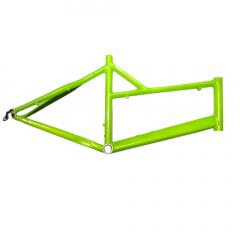 "Frame Neon Green Mini Velo 26"" Mixed Steel Rim Size: M"