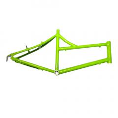 """Frame Mini Velo 26"""" Mixed Steel V-Brake Green Size: S"""
